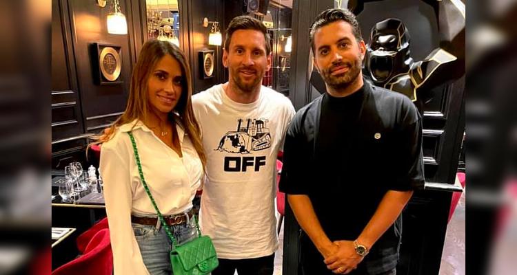 Messi au César de Mehdi Abdelhedi