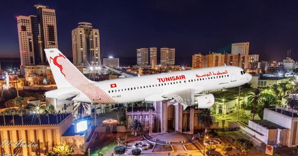 Tunisair Express: تعزز خط جربة طرابلس برحلات إضافية
